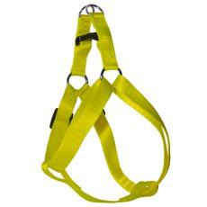 Hám kutyáknak neon sárga, 1 x 25-34cm