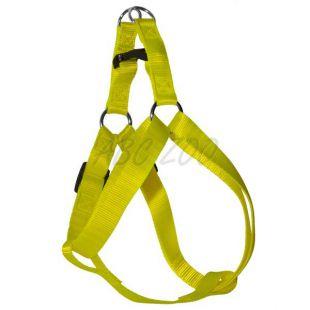 Hám kutyáknak neon sárga, 1,6 x 30-45cm