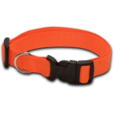 Nyakörv kutyáknak neon narancssárga - 2 x 33-51 cm