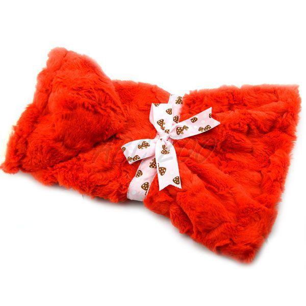 Pulóver kutyáknak narancssárga kapucnival és szalaggal