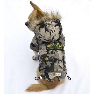 Kutyakabát - szürke, L