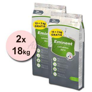 EMINENT Lamb and Rice - 2 x 18 kg