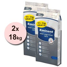 EMINENT Adult Large Breed - 2 x 18 kg