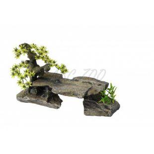 Akváriumi dekoráció - kő bonsai
