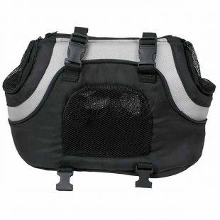 Hordozható kutyatáska - fekete, 35cm