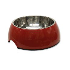 Kutyatál DOG FANTASY 0,70L - piros