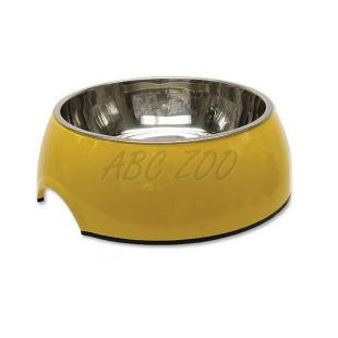 Kutyatál DOG FANTASY 1,40L - sárga