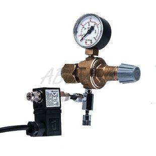 """Redukciós CO2 szelep - W21,8x1/14""""+ tűszelep és elektromágnesszelep"""