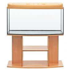 Akvárium komplett DIVERSA 112l - ovális + BUDGET bükk állvány