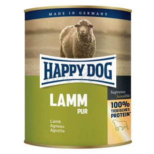 Happy Dog Pur - Lamm 800g / bárányhús