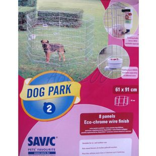 Dog Park 2 kutyaovi 61 cm X 91 cm