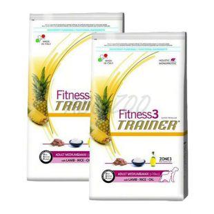 Trainer Fitness3 Adult MEDIUM MAXI -  bárány rizzsel 2 x 12,5 kg