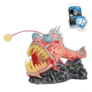 Dekoráció - Monster Fish kék LED világítással