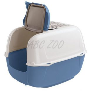 Macskatoalett PRIMA CABRIO kék - 44x40x36,5cm