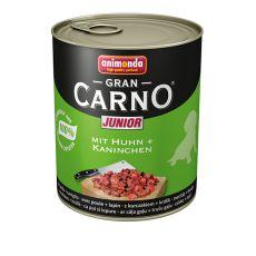 GranCarno Fleisch Junior baromfi+ nyúl - 800g