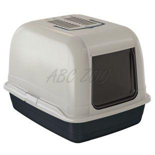 Macska toilet BELLA MAXI fekete - 65,5x50x47cm