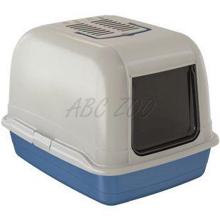 Macskatoalett BELLA MAXI kék - 65,5x50x47cm