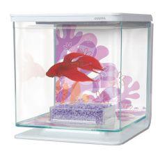 Akvárium MARINA Flower 2l, műanyag