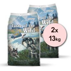 TASTE OF THE WILD Pacific Stream Puppy 2 x 13 kg