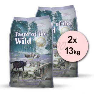 TASTE OF THE WILD Sierra Mountain Canine 2 x 13 kg
