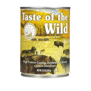 TASTE OF THE WILD High Prairie Canine - konzerv, 374g