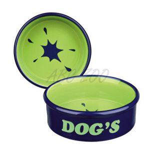 """Kerámia tál kutyáknak """"Dogs"""" felirattal - 0,5l"""