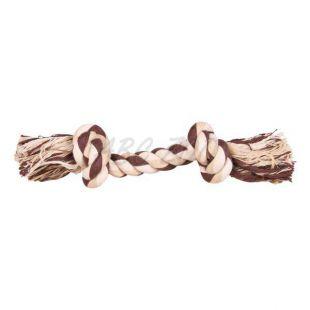 Pamut kötél csomókkal - kutyajáték, 40 cm