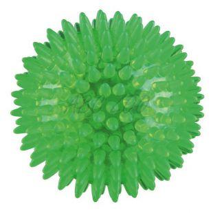 Játék kutyáknak - labda tüskékkel, 8 cm