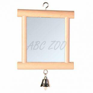 Tükör csengővel - 9 x 10 cm