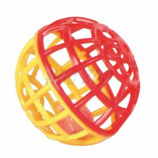 Műanyag labda csengővel - 4,5 cm