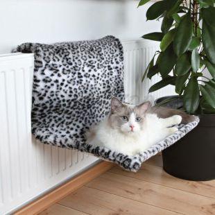 Fűtőtest ágy macskáknak - leo, plüss, 58 x 30 x 38 cm