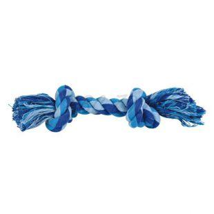 Pamut kötél csomóval - játék kutyáknak, 22 cm