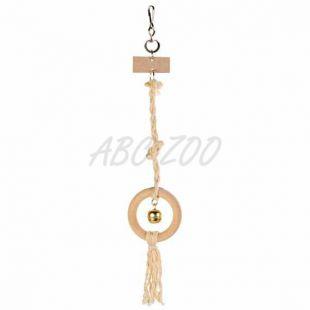 Fa játék szizál kötélen - 41 cm
