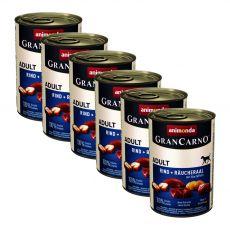 Gran Carno Fleisch Adult - füstölt angolna burgonyával, konzerv - 6x400g