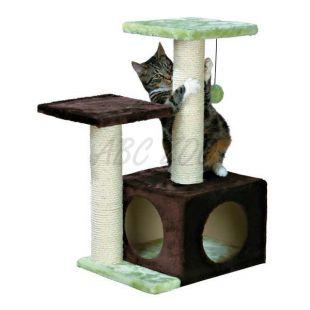 Kaparó macskáknak VALENCIA  - 71 cm, barnászöld