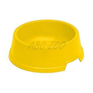 Tál kutyáknak BUFFET 4 - műanyag, sárga - 1,3L