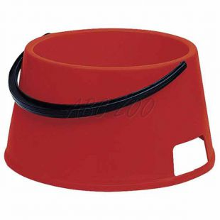 Tál kutyáknak fogantyúval BUFFET 7 - műanyag, piros - 7L
