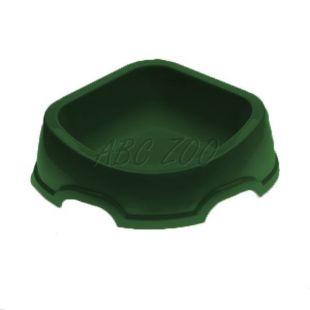 Sarok tál kutyáknak SNACK 31 - műanyag, zöld, 500 ml