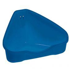 Sarok toalett NORA 1 kék - 18 x 13 x 9 cm