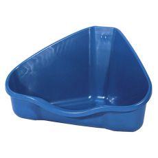 Sarok toalett NORA 3 kék - 50 x 34 x 26 cm
