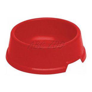 Tál kutyáknak BUFFET 5 - műanyag, piros - 2,2L