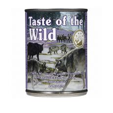 TASTE OF THE WILD Sierra Mountain Canine - konzerv, 390g