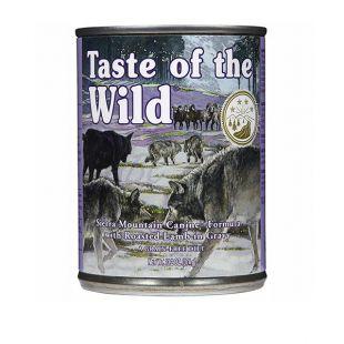 TASTE OF THE WILD Sierra Mountain Canine - konzerv, 374g