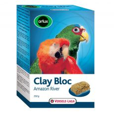 Agyag ásványi kő Orlux Clay Bloc Amazon River 550g