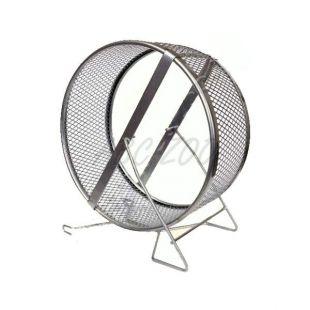 Futókerék rágcsálóknak - fém, 25 cm