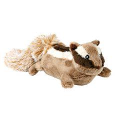 Plüss játék kutyáknak - mókus, 23 cm