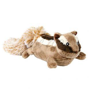 Plüss játék kutyáknak - mókus, 28 cm