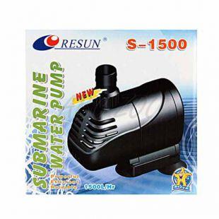 Szivattyú Resun S-1500, nyomásmagasság 160cm, 25W