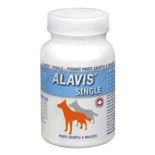 ALAVIS Single gyulladáscsökkentő és fájfdalomcsillapító kutyáknak - 60tbl