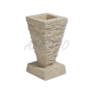Szükőkút Laguna Saqqara Fountain - mészkő imitáció, 21x41 cm